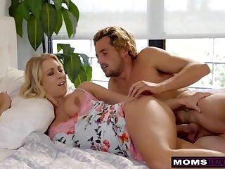 MomsTeachSex - Mommy Plus Sonny Share Love-seat Plus Get some shut-eye S7:E3