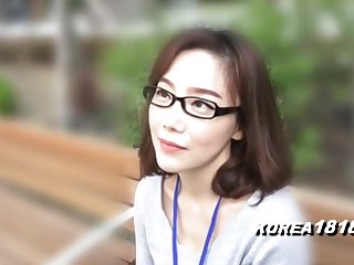 KOREA1818.COM - korean Cutie nearby glasses