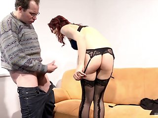 Ass fucked doggy and missionary style mature whore Natalie Hot