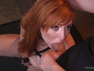 Real bondage whore Lauren Phillips deserves some constant mouthfuck
