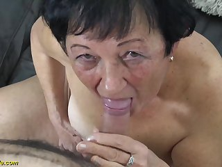 muted 82 years old granny needs a their way young toyboy be advisable for a wild fuck lesson
