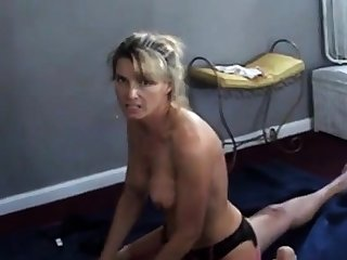 Wife Westminster dirty to the fullest cuckold husband films her with bull