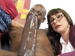 Casey Cumz Watches Will not hear of Mom Gets Creampied By A BBC