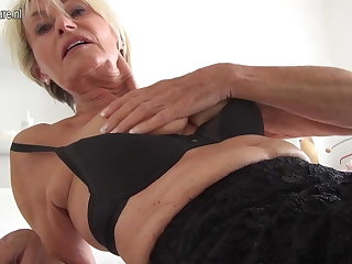 Very old and incredible HOT German GILF grandma