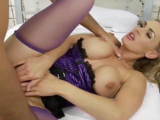 Hardcore sex by strong and fat dick is all go wool-gathering Tanya Tate needs