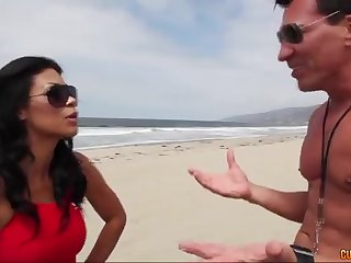 Anal Sex on the beach - cassandra cruz