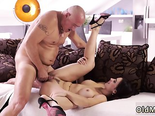 Old handjob Rough hump be useful to remarkable latina babe