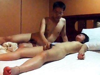 Certainly Cute Korean GF's hotel sex