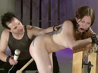 Dominand husband loves to wrap and torture his submissive wife