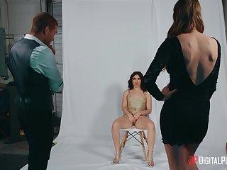 Pornstars Jane Wilde and Ashley Lane fucked take threesome take HD