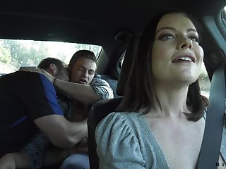 Hot milf Sovereign Syre gets intimate with one gay couple